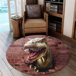 Love Dinosaur DTC0712208 Round Carpet