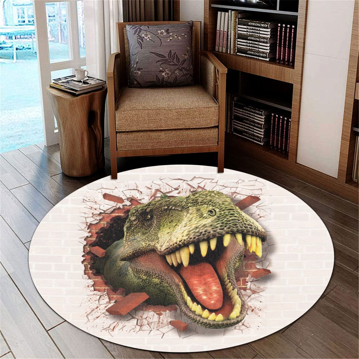 Love Dinosaur DTC0712206 Round Carpet
