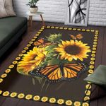 Beautiful Sunflower PTC0181202 Rug