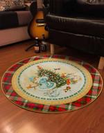 Holiday Snowman PTC0181235 Round Carpet