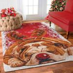 English Bulldog Christmas PTC0181212 Rug