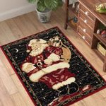 Holiday Christmas Santa Claus PTC0181218 Rug