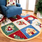 Holy Season PTC0181236 Round Carpet