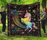 Believe In Magic DAC081217 Quilt Blanket