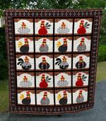 Crazy Chicken DAC081208 Quilt Blanket