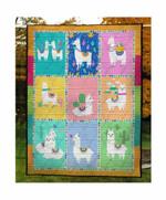 Llama Cute DAC081204 Quilt Blanket