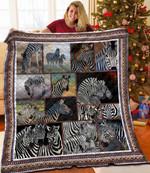 Zebra DAC081201 Quilt Blanket
