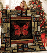 Butterfly DAC081215 Quilt Blanket
