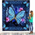 Butterfly DAC081214 Quilt Blanket
