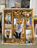 Fox DAC081205 Quilt Blanket