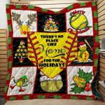 Softball Christmas DAC081202 Quilt Blanket
