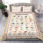 Alphabet Of Dinosaurs MMC091221 Bedding Set