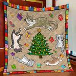 Funny Cat DTC1012206 Quilt Blanket