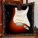 Guitar DTC1012203 Quilt Blanket