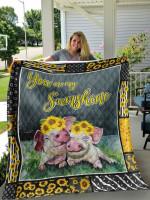 Pig DTC1212805 Quilt Blanket