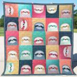 Sloth DTC1212803 Quilt Blanket