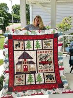 Home For Christmas DTC1212812 Quilt Blanket