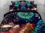 Fireworks Christmas DTC1212817 Quilt Blanket