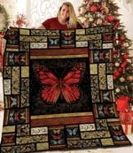 Butterfly DTC1212835 Quilt Blanket