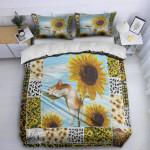 Sleep Cat On Sunflowers DTC1212904 Bedding Set