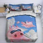 Cute Pigs In The Sky DTC1212920 Bedding Set