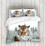 Tiger In Snow DAC111204 Bedding Set