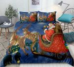 Santa Claus And Reindeer DTC1412909 Bedding Set