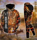 Premium Unique Deer Hunting Hoodie And Legging Ultra Soft and Warm LTA031201DA