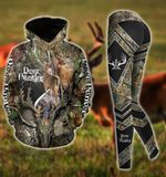Premium Unique Deer Hunting Hoodie And Legging Ultra Soft and Warm LTA301101DA
