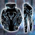Premium Unique Deer Hunting Hoodie Set, Ultra Soft and Warm - LTA131146SA Blue