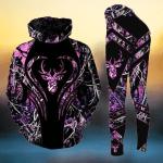 Premium Unique Deer Hunting Hoodie Set, Ultra Soft and Warm - LTA131126SA