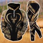 Premium Unique Deer Hunting Hoodie Set Ultra Soft and Warm - LTA131146SA