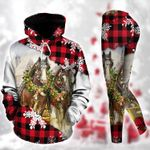 Horse Christmas TC111203HD Legging Hoodie Tanktop Set
