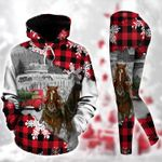 Horse Christmas TC111205HD Legging Hoodie Tanktop Set