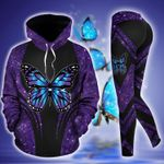 Butterfly TC111202HD Legging Hoodie Tanktop Set