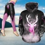 Deer Hunting Country Girl TC191106NH Legging And Hoodie Ultra Soft and Warm