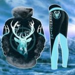 Deer Hunting Country Girl TCCL13112904 Legging And Hoodie Ultra Soft and Warm