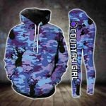 Deer Hunting Country Girl Camo TCCL13112902 Legging And Hoodie Ultra Soft and Warm