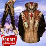 Native American Clothing TC201111HD Legging And Hoodie Ultra Soft and Warm