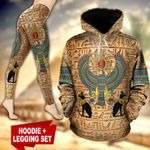 Ancient Egyptian God TC181102HD Legging And Hoodie Ultra Soft and Warm
