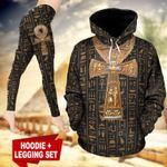 Ancient Egypt Ankh TC181101HD Legging And Hoodie Ultra Soft and Warm