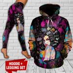 Black Woman TC181103HD Legging And Hoodie Ultra Soft and Warm