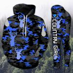 Deer Hunting Country Girl Camo TCCL13112901 Legging And Hoodie Ultra Soft and Warm