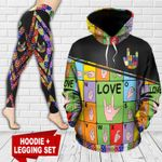 Sign Language TC181106HD Legging And Hoodie Ultra Soft and Warm