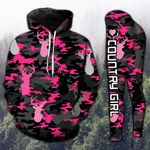 Deer Hunting Country Girl Camo TCCL13112900 Legging And Hoodie Ultra Soft and Warm