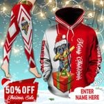 Dachshund Christmas Personalized TC211101HD Legging And Hoodie Ultra Soft and Warm
