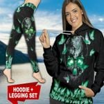 Butterfly Skull TC111118HD Legging And Hoodie Ultra Soft and Warm
