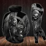 Grim Reaper TCCL051111 Legging And Hoodie Ultra Soft and Warm