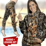 Deer Hunting Country Girl TC091125HD Legging And Hoodie Ultra Soft and Warm