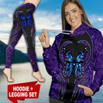 Butterfly TC111117HD Legging And Hoodie Ultra Soft and Warm